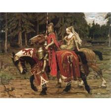 Heraldic Chivalry - Alphonse Mucha