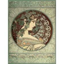 Ivy - Alphonse Mucha