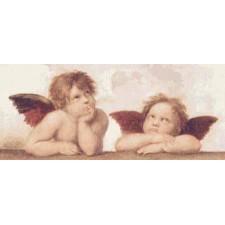 Putti, Sistine Madonna -Raphael