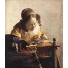 The Lacemaker - Johannes Vermeer