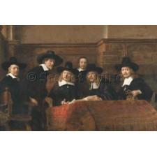 De Staalmeesters - The Syndics of the Clothmakers Guild - Rembrandt van Rijn