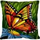 Kussen Vlinder - Le papillon