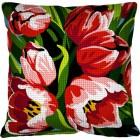 Kussen Tulpen - Les tulipes