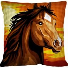 Kussen Wild paard - Le cheval sauvage