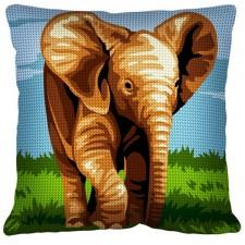 Kussen Olifant - L'éléphanteau