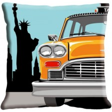 Kussen Auto in New York (Taxi)