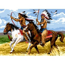 Indianen te paard