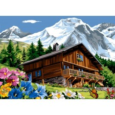 Zomerse bergen - Montagne d'été