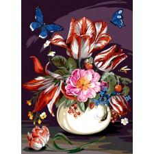 Levendig boeket - Bouquet vivant