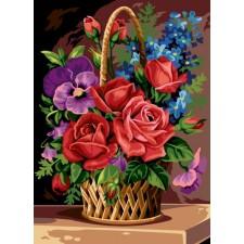Bloemenmand - Panier en fleur