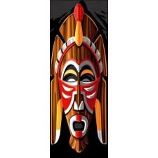 Afrikaans masker - Masque