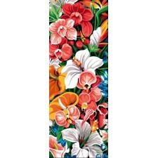 Exotische bloemenzee - Mur Exotique