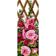 Bloemen aan klimrek - Roses
