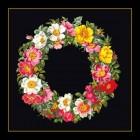 Krans met rozen