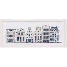 Delftsblauwe huisjes - Delft blue houses