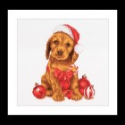 Kerstpuppy - Christmas puppy