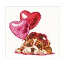 Valentijn puppy - Valentine's Puppy