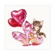 Valentijn kitten - Valentine's Kitten