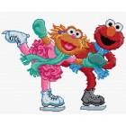 Sesamstraat: Schaatsen (Elmo en Abby Cadabby)