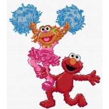 Sesamstraat: Dansen (Elmo en en Abby Cadabby)
