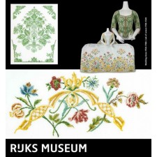 Bruiloftsjurk en jak uit het Rijksmuseum - Wedding dress and Jak of Caraco
