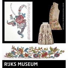 Vest en jurk uit het Rijksmuseum - Skirt and waistcoat