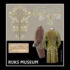 Kleding in franse stijl  uit het Rijksmuseum - Habit a la Francaise