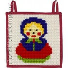 Little Wallhanging 20 x 20 cm Pre-stamped