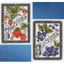Black Berries (set of 2)