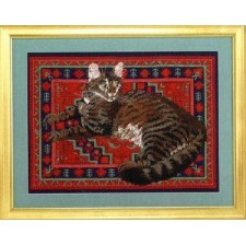 Muppet on Indian Carpet