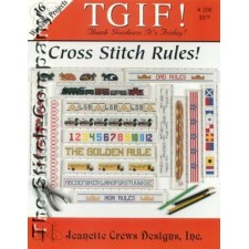 T G I F! Cross Stitch Rules