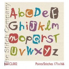 Multicolour Alphabet