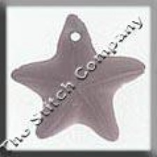 Glass Treasures Starfish 15mm Matte Rosaline