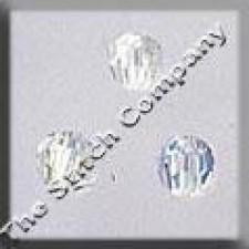 Crystal Treasures Round Bead- Crystal A B