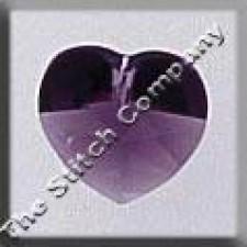 Crystal Treasures Small Heart- Amethyst