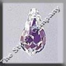 Crystal Treasures Very Small Tear Drop- Crystal A B (ook vervanger van mh-13099)