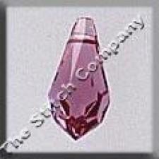 Crystal Treasures Very Small Tear Drop- Rose A B