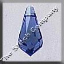 Crystal Treasures Very Small Tear Drop- Sapphire A B