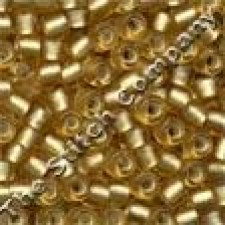Pony Beads 6/0 Frosted Gold