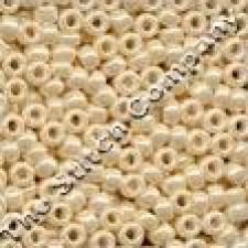 Pony Beads 8/0 Cream
