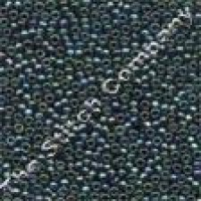 Petite Glass Beads Tapestry Teal