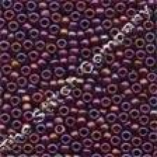 Frosted Beads Royal Plum