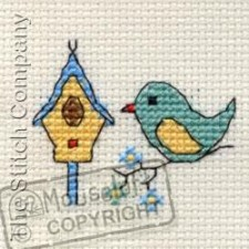 Bird & Birdhouse