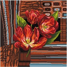 Tulips In Brown