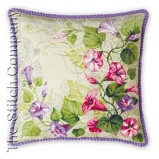 Pastel Bindweed Cushion