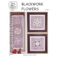 Blackwork Flowers