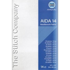 Aïda 14 ct, White