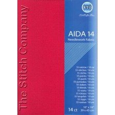 Aïda 14 ct, Red