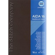 Aïda 16 ct, Black