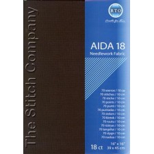 Aïda 18 ct, Black